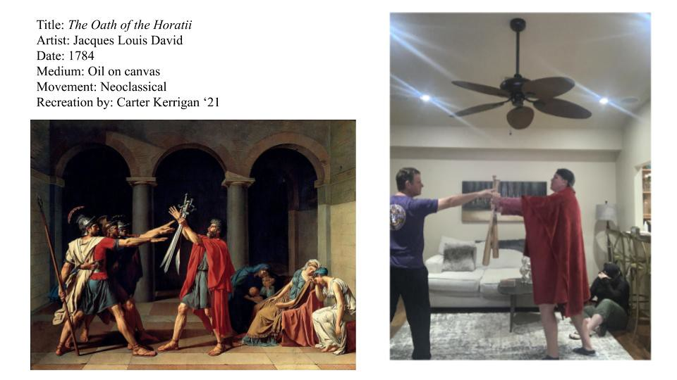 Art History Recreation Projects
