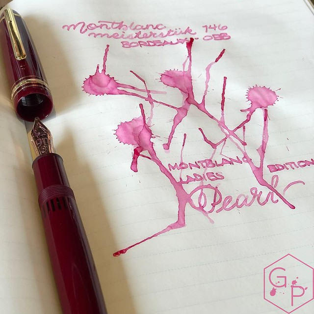 Montblanc Ladies Edition Pearl Pink Marilyn Monroe 3