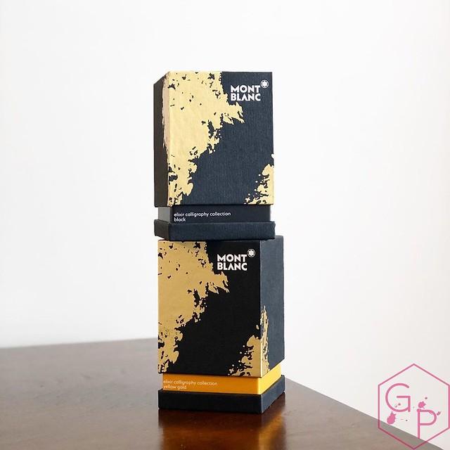 Montblanc Elixir Calligraphy Inks - Black & Yellow Gold 1_RWM