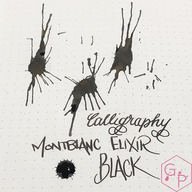 Montblanc Elixir Calligraphy Inks - Black & Yellow Gold 3_RWM