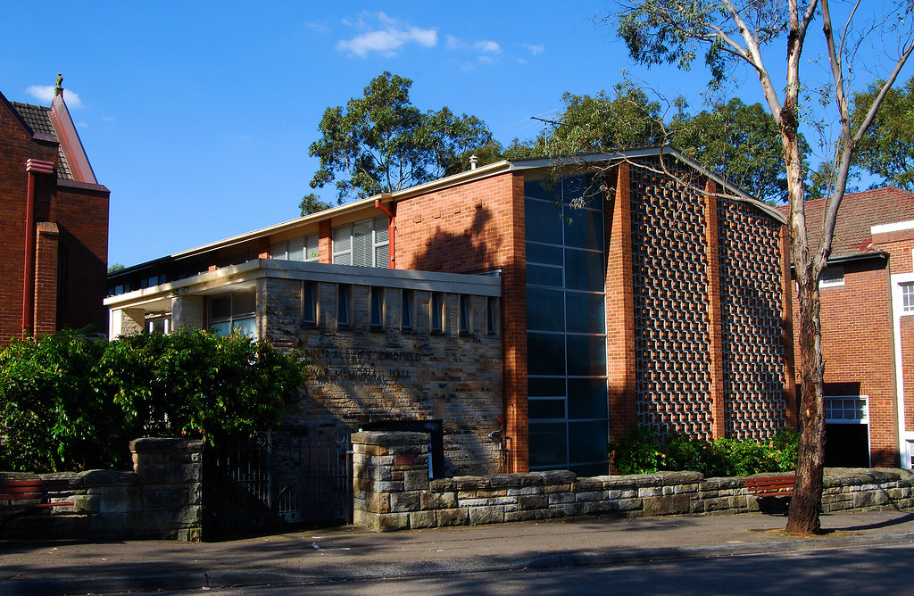 St Albans War Memorial Hall, Lindfield, Sydney, NSW.