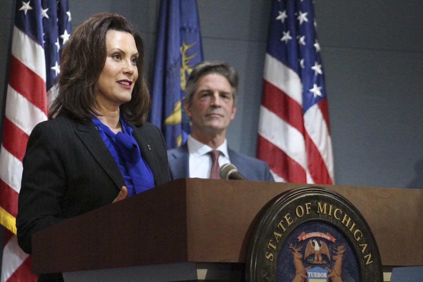 Governor Whitmer Provides COVID-19 Update in Michigan