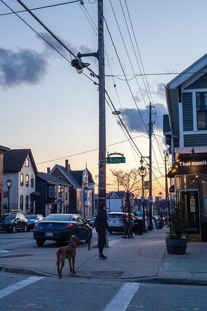 Sunset Walk on Brady St.