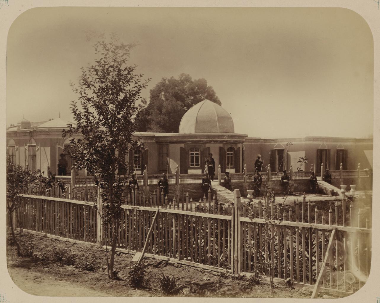 Дворец сына кокандского хана