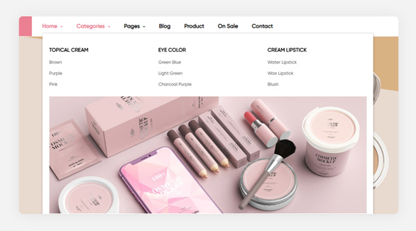 megamenu-module- Leo Beautric Beauty and Health Prestashop Theme