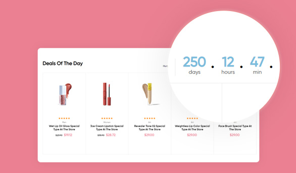 countdown-timer- Leo Beautric Beauty and Health Prestashop Theme