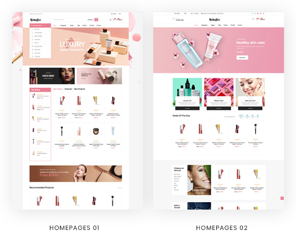 02-homepage- Leo Beautric Beauty and Health Prestashop Theme