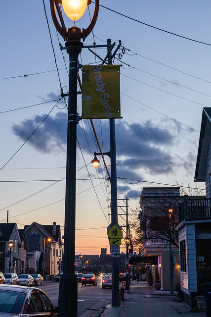 Brady Street Sunset