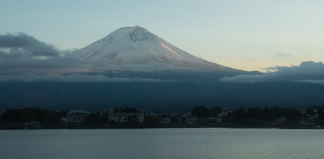 Mount Fuji Late Afternoon