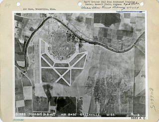Greenville Army Airfield, MS, Aerial Photos