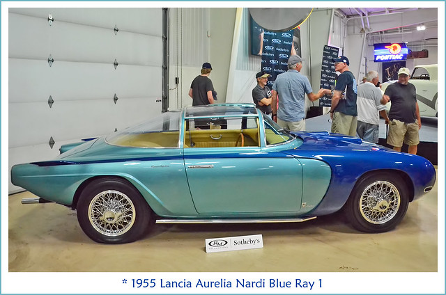 1955 Lancia Aurelia Nardi Blue Ray 1