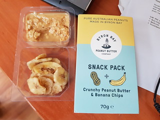 Byron Bay Peanut Butter and Banana Snack