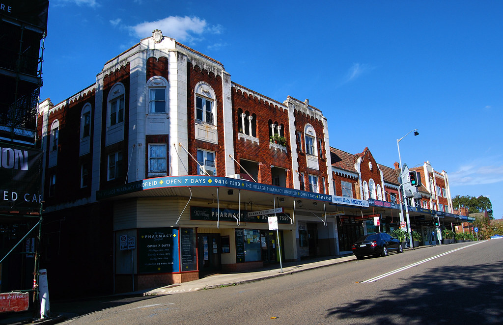 Shops, Lindfield, Sydney, NSW.