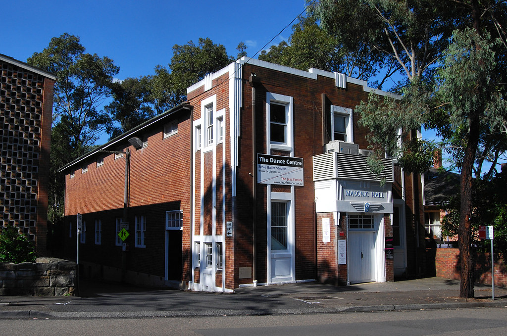 Masonic Hall, Lindfield, Sydney, NSW.