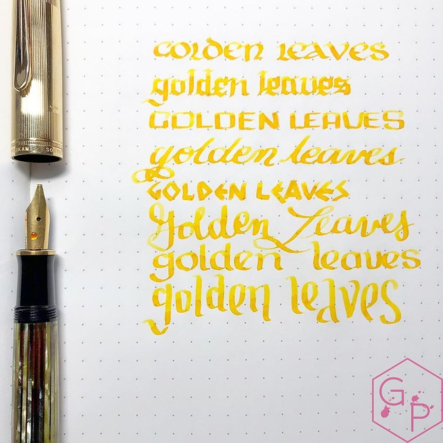 Colorverse Inks 59 & 60 Ginkgo Tree & Golden Leaves 1_RWM