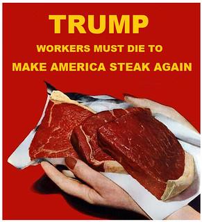 Trump Pandemic Plan: Order Steak