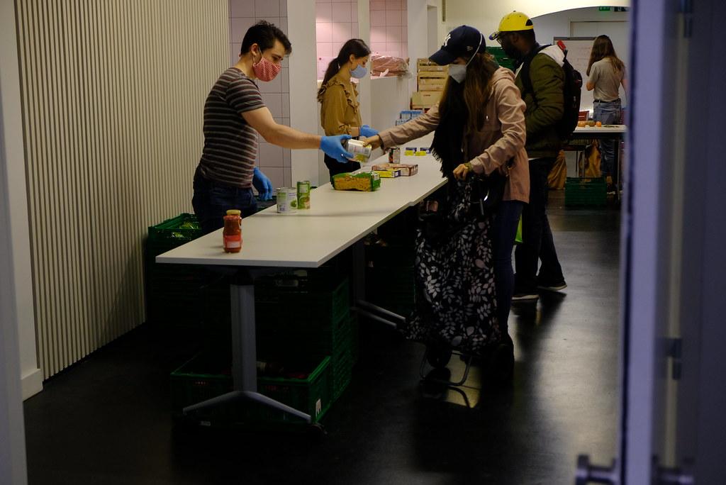 Précarité étudiante | Distribution alimentaire Afges à Stras… | Flickr