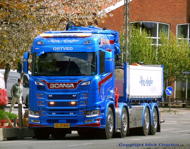 New 2020 Next Generation Scania R520 CL37830 fitted with plates only 8 days ago