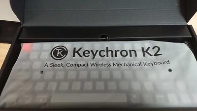 New keyboard keychron k2