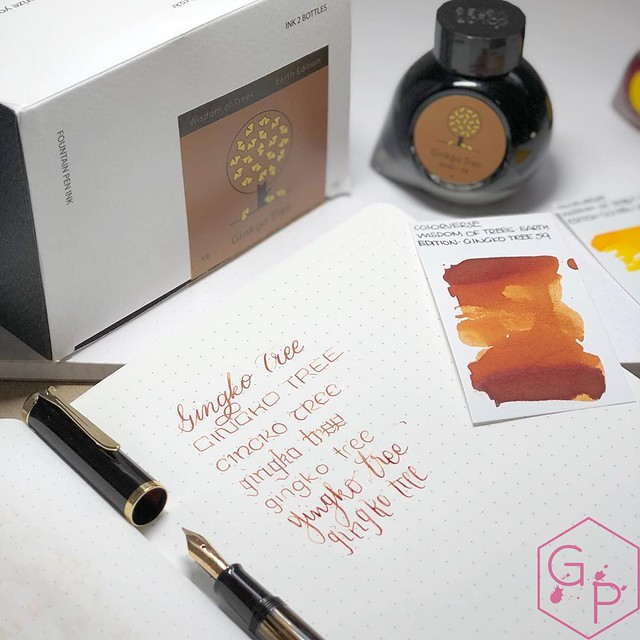 Colorverse Inks 59 & 60 Ginkgo Tree & Golden Leaves 3_RWM