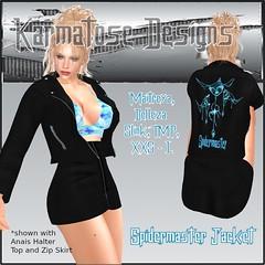Karmatose Spidermaster Jacket Ad