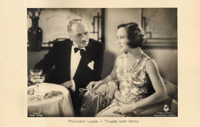 Theodor Loos andTrude von Molo in Die unsichtbare Front (1933)