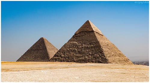The two pyramids