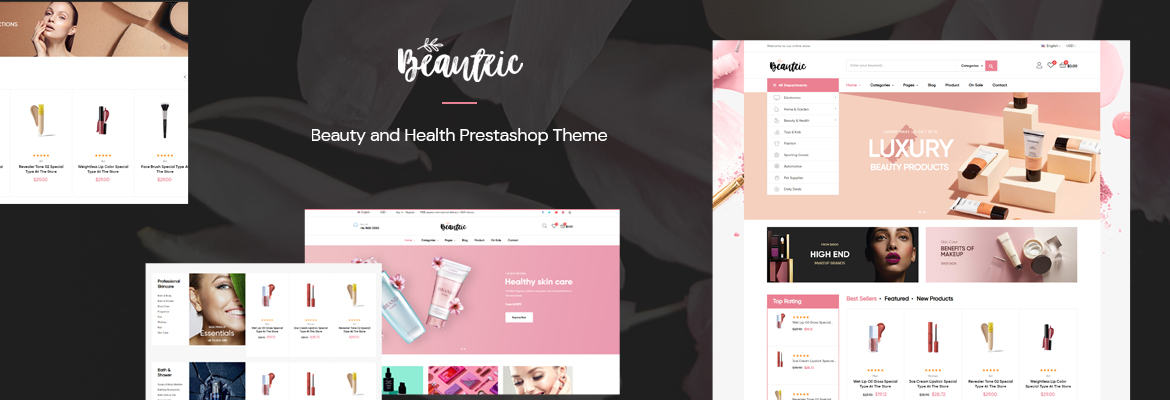 Leo Beautric Beauty and Health Prestashop Theme