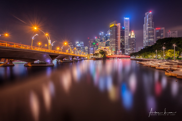 Bright Night At Marina Bay II