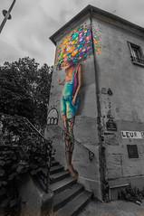street art paris by vin-sang l'eau-nez