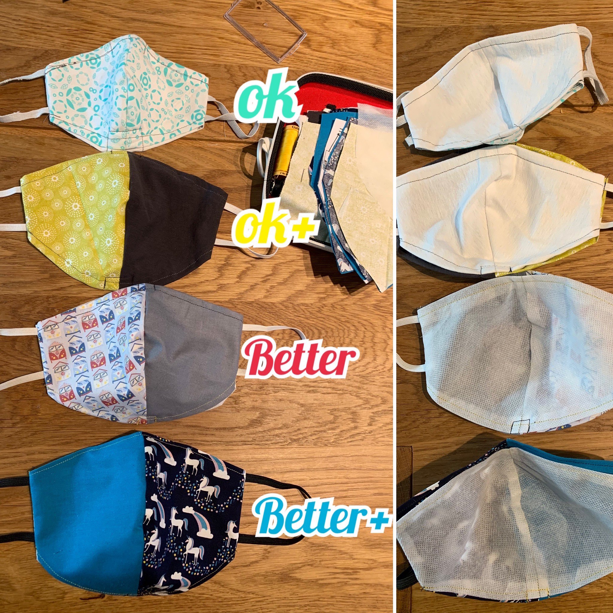 DIY Fabric Face Masks