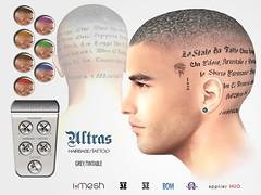 ULTRAS hb&tattoo GREY/tintable
