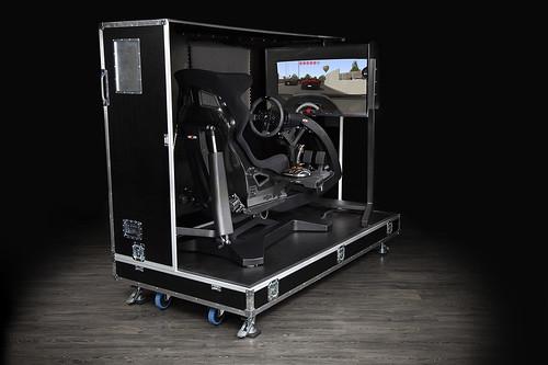 ImSim Alma Motion Simulator Flightcase