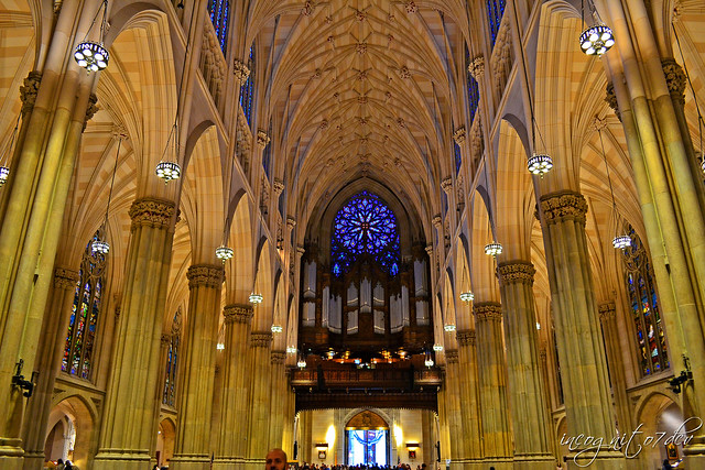Inside St. Patrick's Cathedral Midtown Manhattan New York City NY P00512 DSC_1114