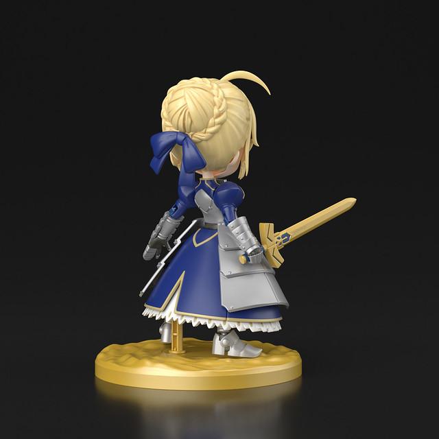 首度新增腰部可動!PETITRITS《Fate/Grand Order》Saber/阿爾托莉亞・潘德拉剛|ぷちりっつ セイバー/アルトリア・ペンドラゴン 組裝模型