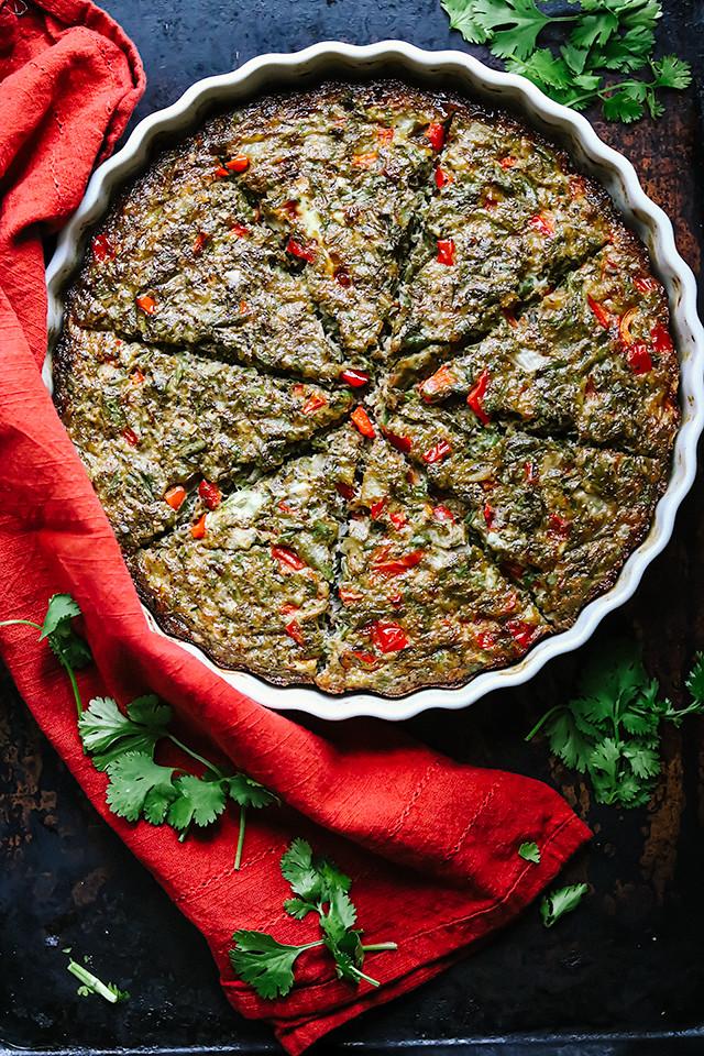Persian Green Bean Frittata (Kookoo Loobia Sabz)