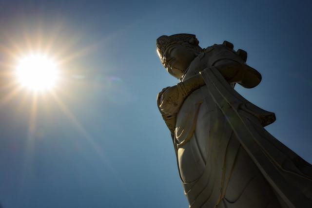 Kannon Bodhisattva In Kiyose, Japan