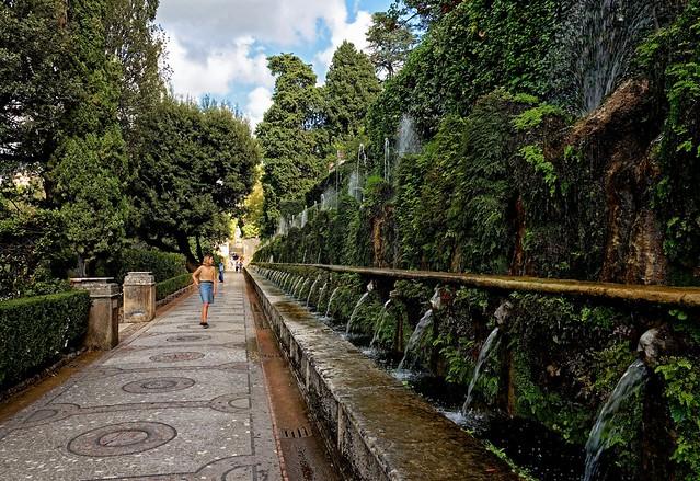 Villa d'Este Tivoli / One hundred fountains