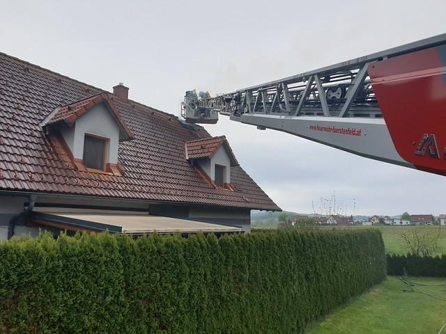 Wohnhausbrand Ottendorf 29.04