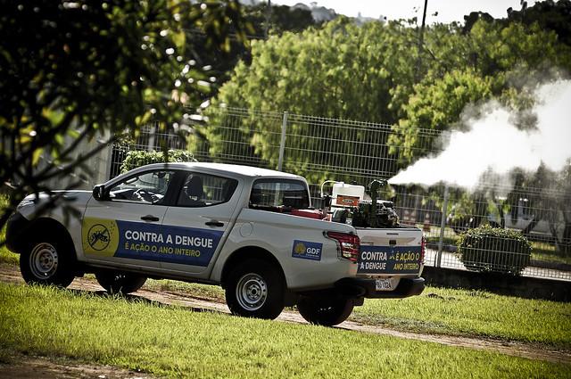 Vigilância Ambiental promove sanitização no Guará e em agências do trabalhador