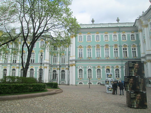 Winter Palace, St Petersburg, from Courtyard