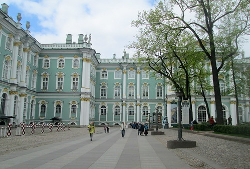 Winter Palace from Courtyard, St Petersburg