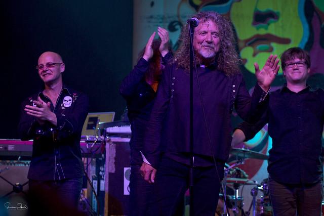 Robert Plant, Dave Smith and John Baggot