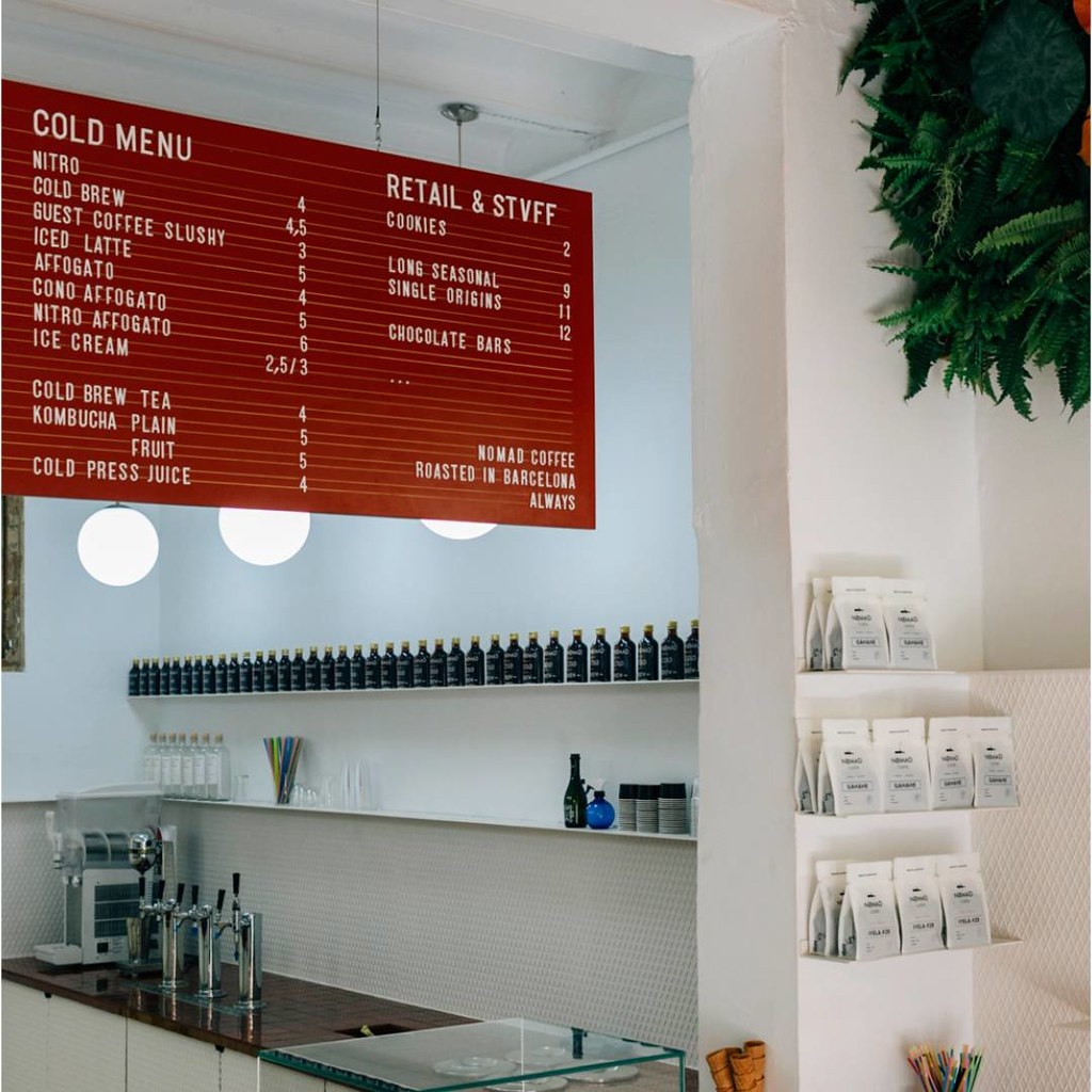 Nomad Coffe - Café de especialidad Barcelona