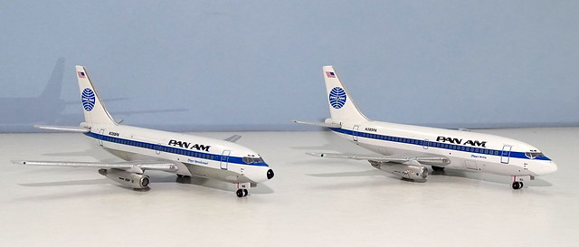 Pan Am Boeing 737-200s N385PA and N388PA