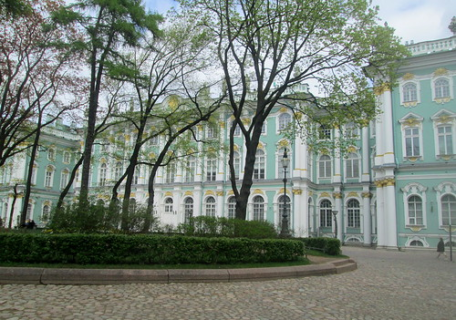 Ciurtyard, Winter Palace, St Petersburg