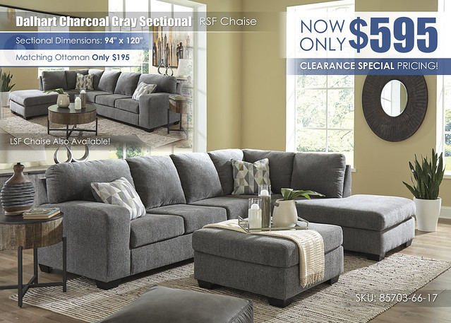 Dalhart Charcoal Gray Sectional_85703-66-17
