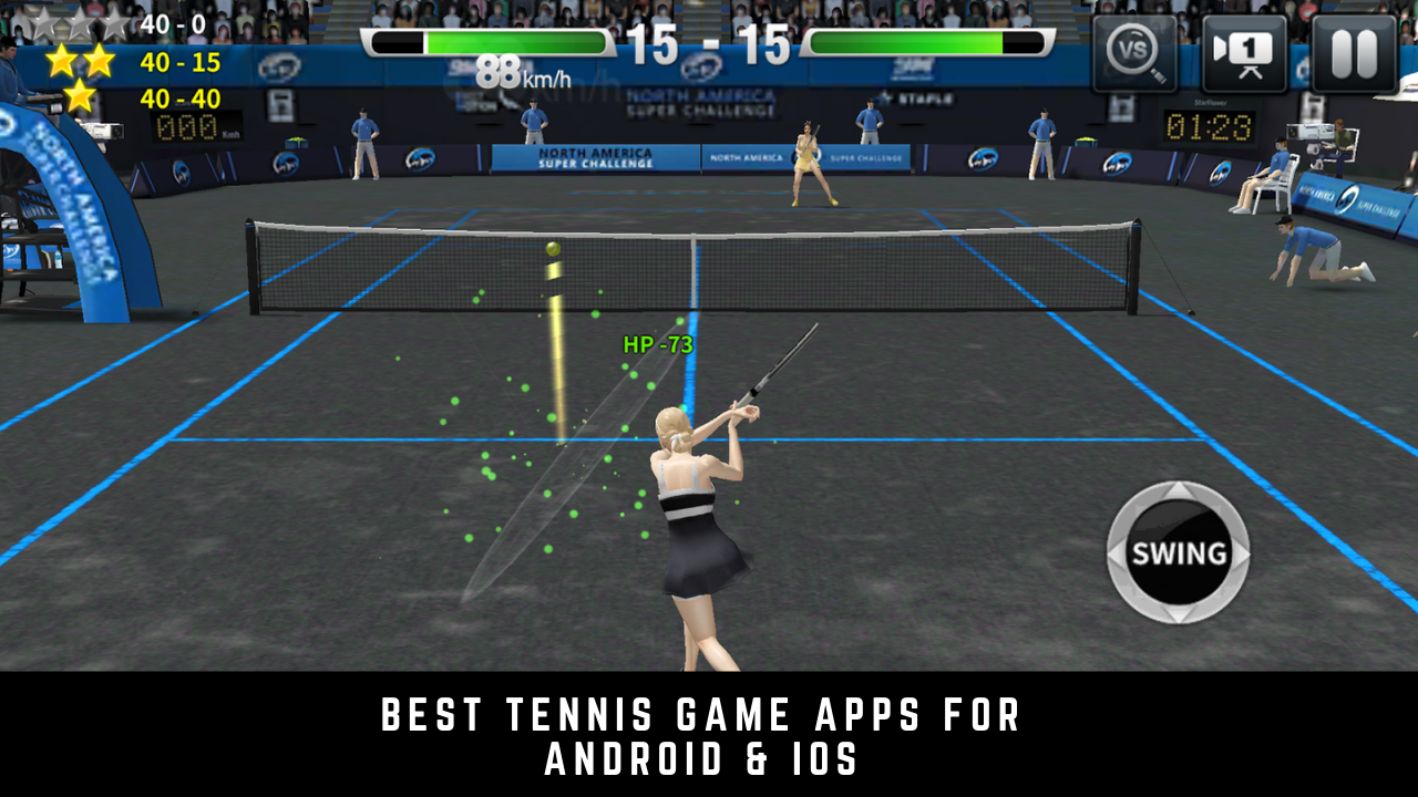 9 Best Tennis Game Apps For Android & iOS 2020