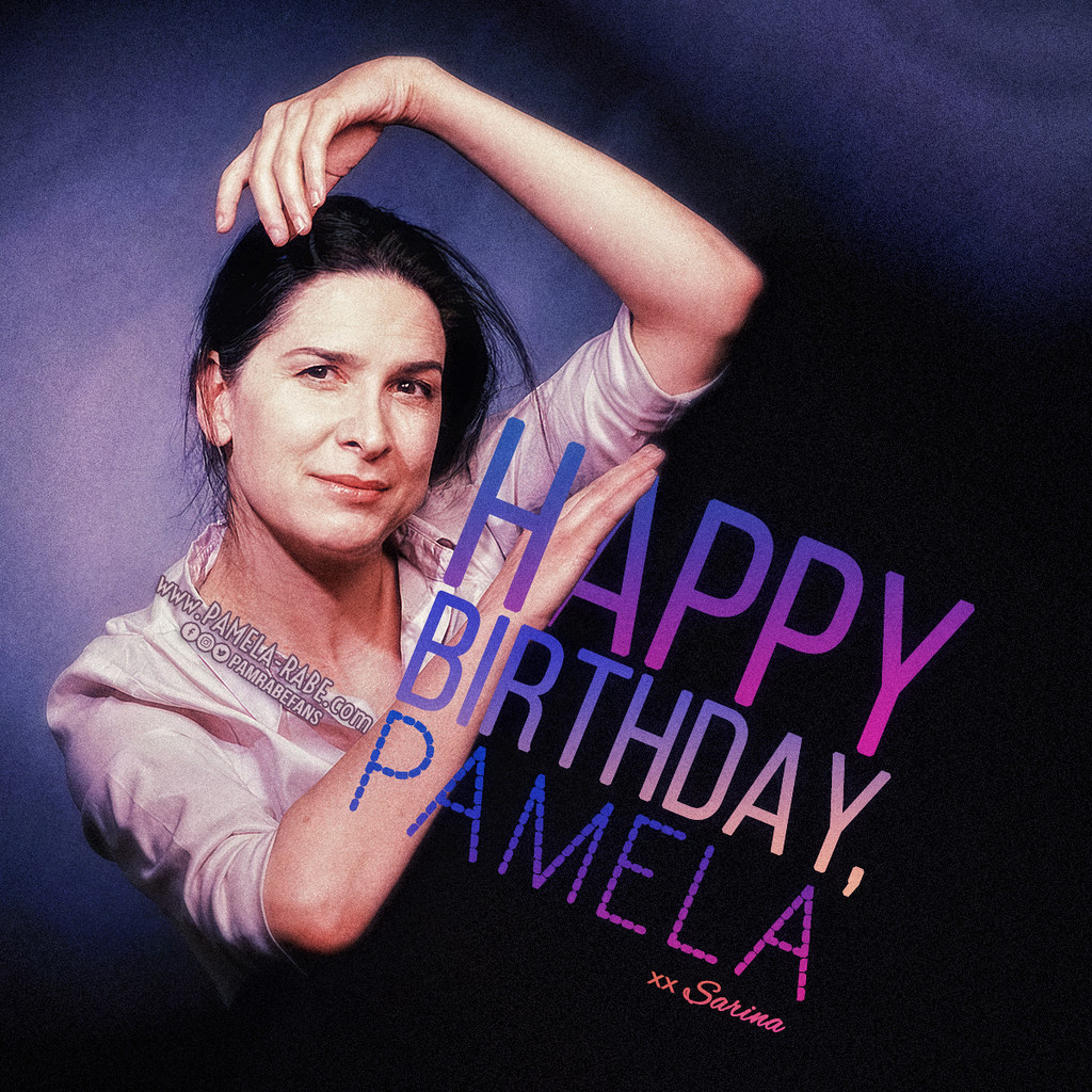 Happy 61st Birthday Pamela Rabe