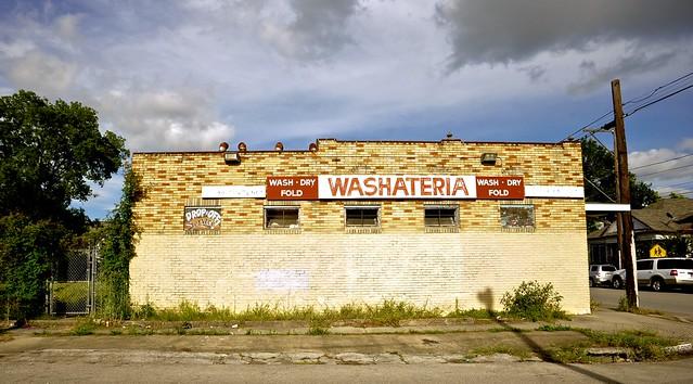Neighborhood Washateria - Houston, Texas